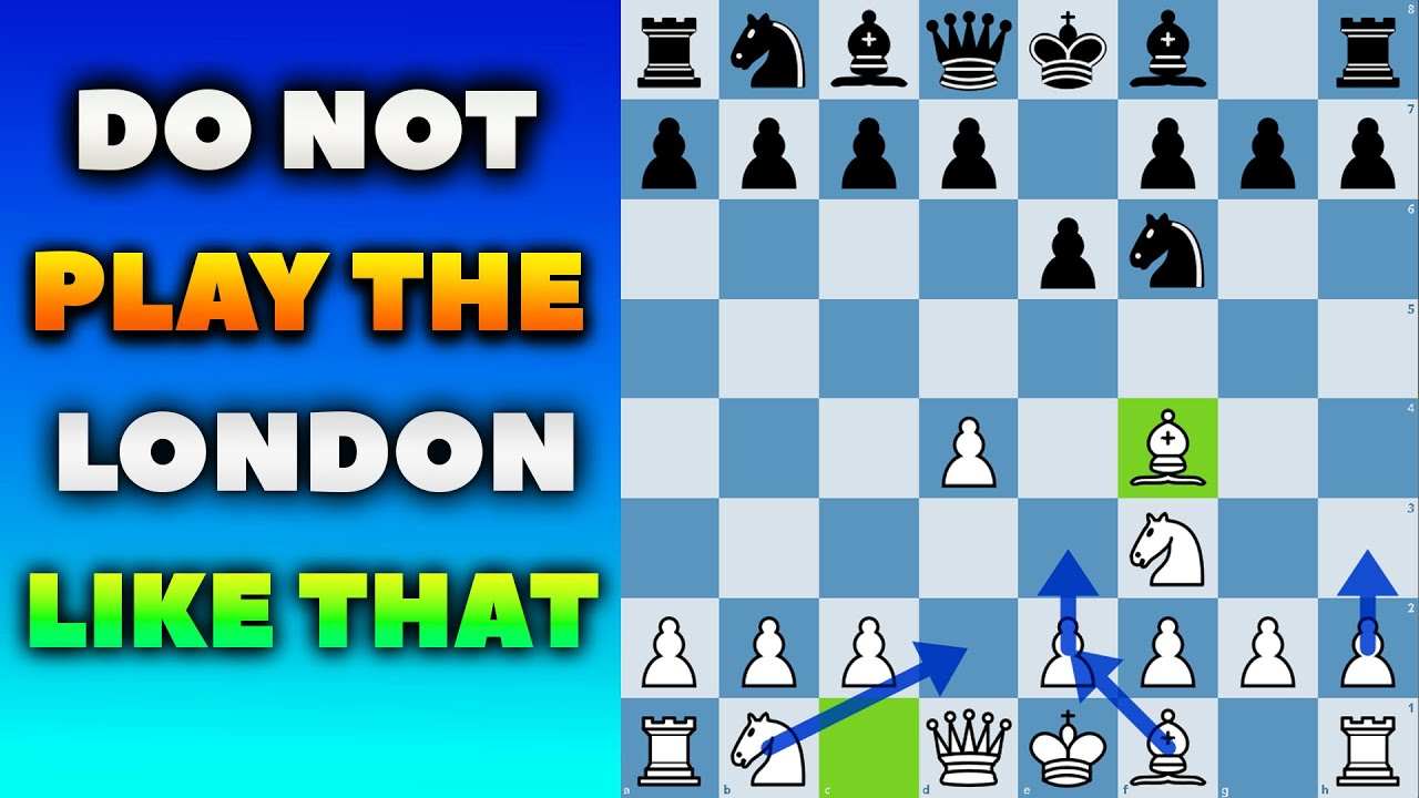 Easy Chess Openings-The London System - YouTube