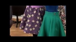 101-1 Gretchen Hirsch Demonstrates How To Make A Vintage Skirt On It's Sew Easy