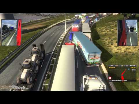 ETS2MP Traffic Jam