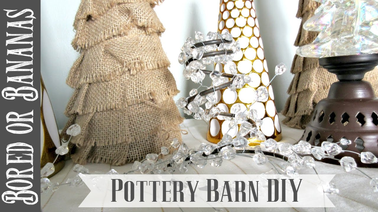 high low christmas decor collab charlie brown pottery barn diy youtube