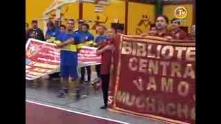 Trabajadores sanmarquinos participan con mucho entusiasmo en 1er campeonato de Futbol