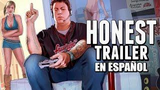GRAND THEFT AUTO ONLINE (Honest Game Trailers en Español)(SUSCRIBETE PARA MÁS SMOSH EN ESPAÑOL ▻▻ http://smo.sh/SuscribeteElSmosh Trailers que te dicen LA VERDAD sobre tus Video Juegos favoritos: ..., 2016-03-23T21:02:05.000Z)