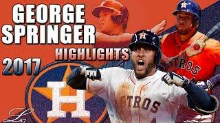 George Springer 2017 Highlights || Houston Astros All Star || ᴴᴰ