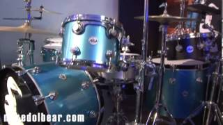 Dave Grohl's Them Crooked Vultures DW Kit NAMM14