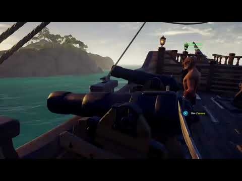 Lady,Kmega,Don,and my son (chaos) (Sea of Thieves Gameplay)