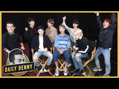 BTS Answers YOUR Fan Questions! Plus Smosh's Ian Hecox Plays 'You Posted That' With ET   Daily Denny