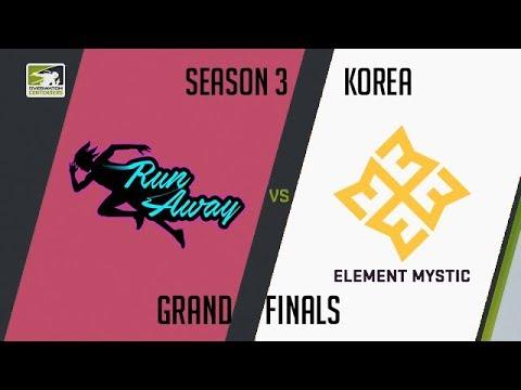 RunAway vs Element Mystic (Part 1) | OWC 2018 Season 3: Korea [Grand Finals]