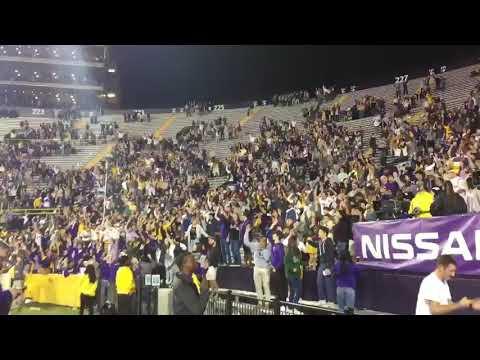 Louisiana State University Band Playing Neck (2017)
