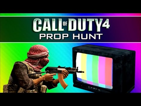 Thumbnail: Call of Duty 4: Prop Hunt Funny Moments 2 - Operation Bigfoot, Mannequins, Claymore Win (CoD4 Mod)
