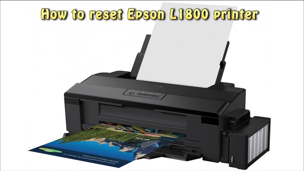 Reset L1110 waste ink pad counter | Printer Reset Keys
