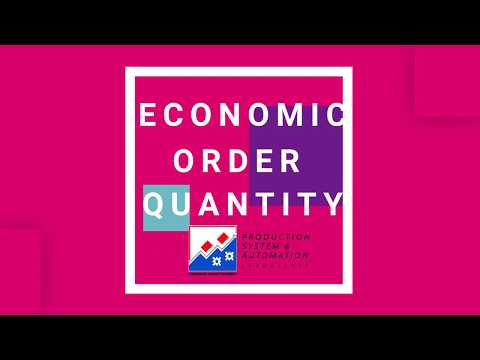 Teknik Lotting Economic Order Quantity (EOQ)