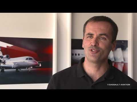 Portrait de Benoît Mérieau - Salon du Bourget 2019 - Dassault Aviation