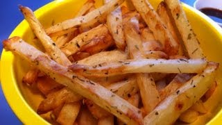 How To Make Homemade French Fries: Oven Baked And Deep Fried