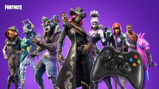 Play Fortnite PC with any USB Gamepad. (Updated Working on Season 6)