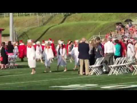 Peters Township High School graduation 2017 processional.