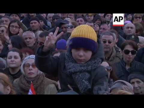 Georgia demo backs independence of Rustavi 2 TV