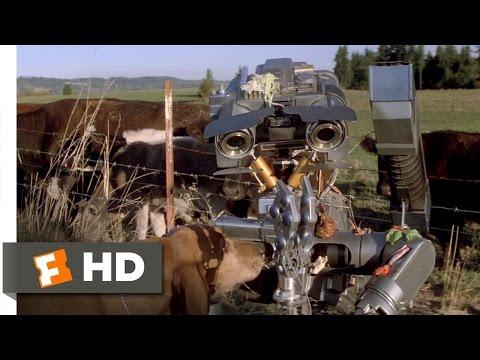 Short Circuit (3/8) Movie CLIP - It Just Runs Programs (1986) HD