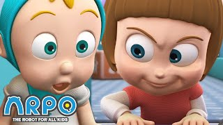 Arpo the Robot | Baby Competition | FULL EPISODE | Funny Cartoons for Kids | Arpo and Daniel