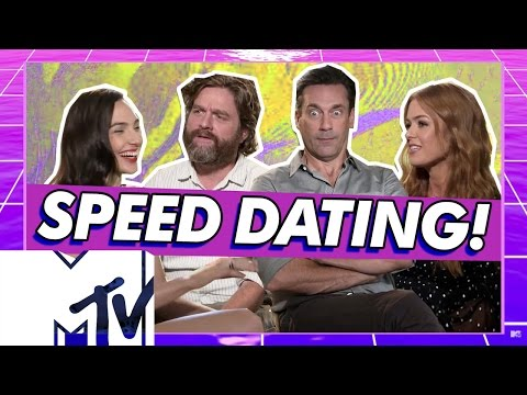 Keeping Up With The Joneses Cast Go Speed Dating! | MTV Movies