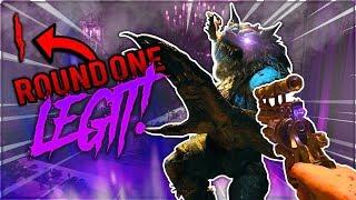 "✔️LEGIT (Round 1) BOSS FIGHT (No Glitches) ""Dead of The Night"" BO4 Zombies"
