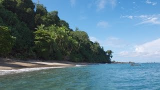 Exploring the coral reef at Caño Island, Costa Rica