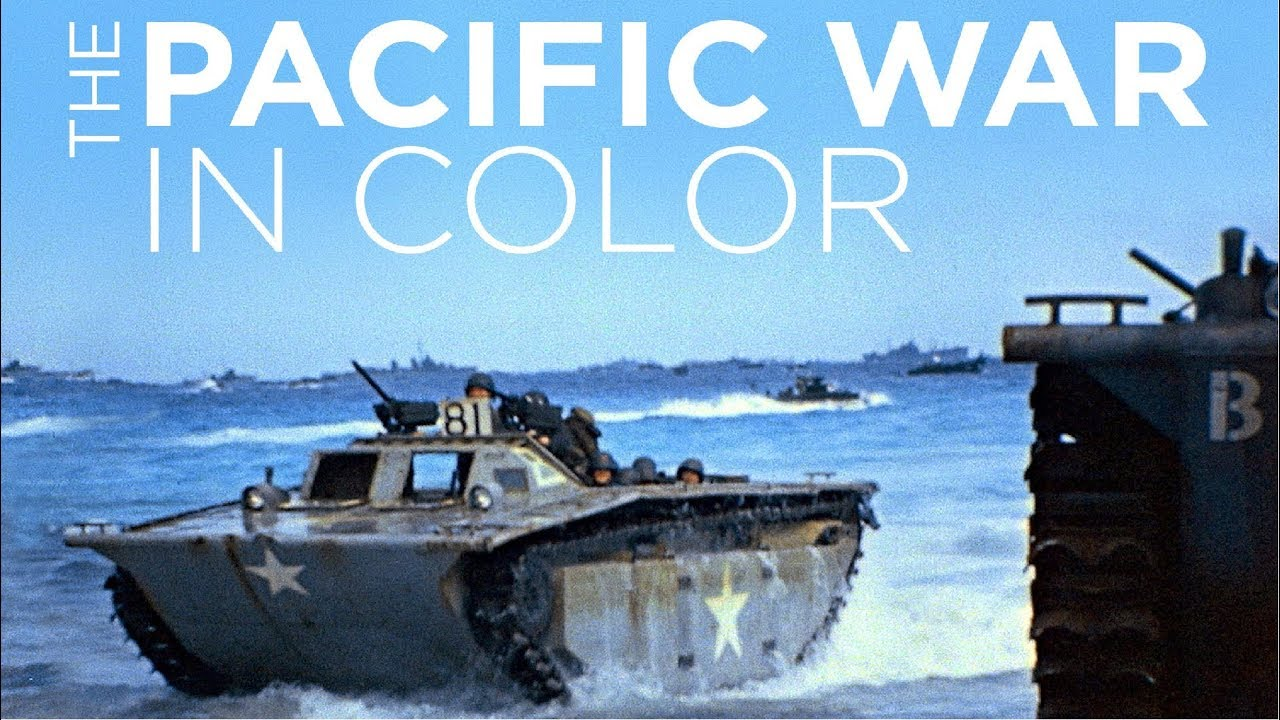 The Pacific War in Color - Documentary (2018) - Ep06 - Fire in the Sky