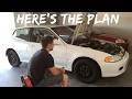 Wheel stud repair + Thermostat install 1992 Honda Civic EG project - Ep 11