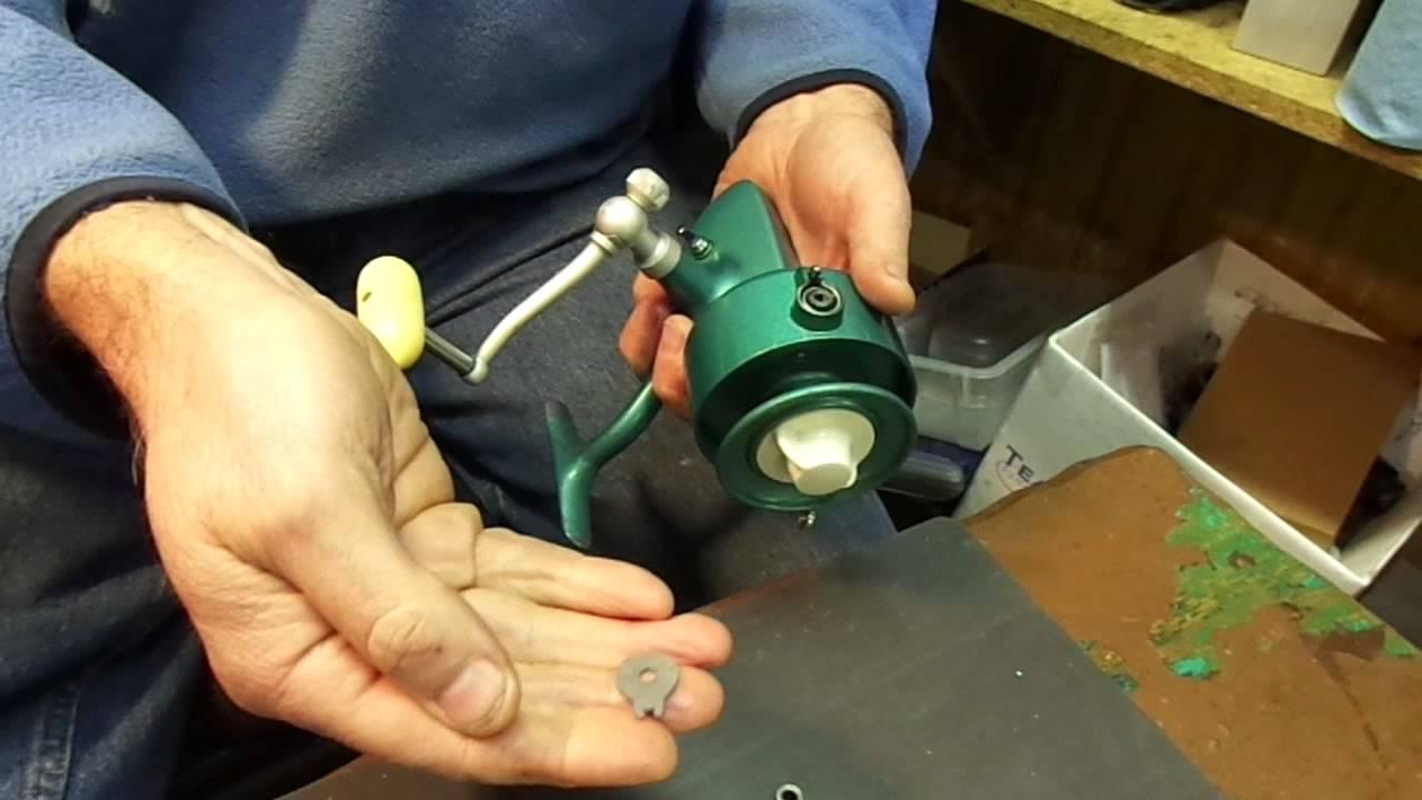 Penn 704z manual bail-less conversion kit installation - Penn 704z Fishing  Reel