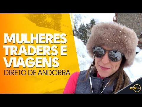 Mulheres traders e viagens - direto de Andorra a #vidadetrader - com Carol Paiffer