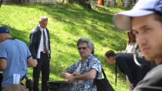 Donnie Wahlberg en las grabaciones de Blue Bloods 7 (13.08.2012)