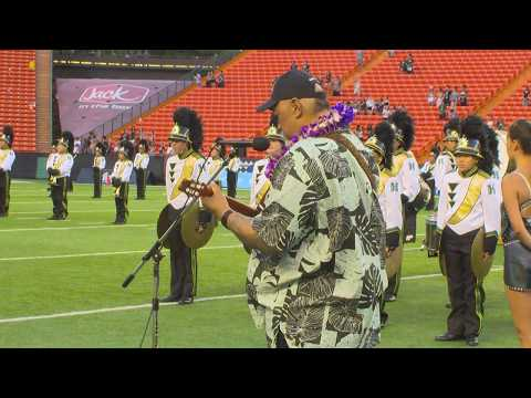 Willie K Performs the Star Spangled Banner
