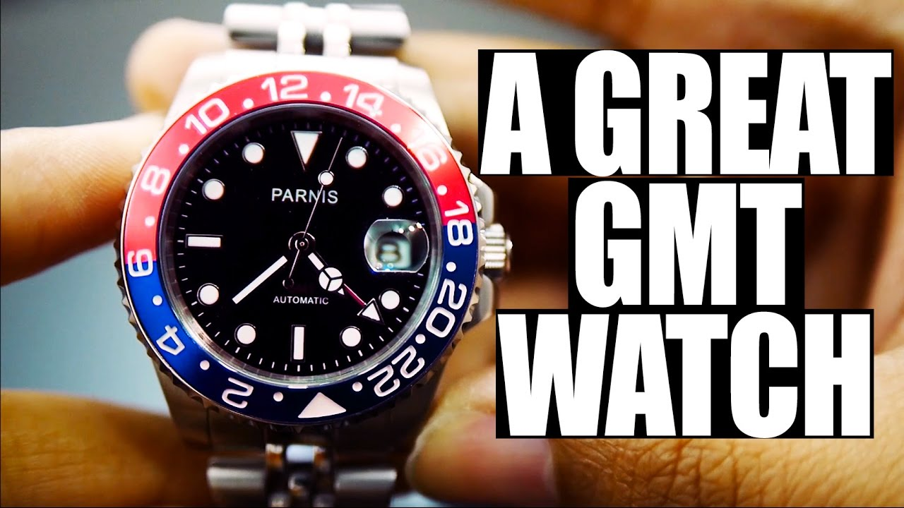 Review Parnis GMT-MASTER II