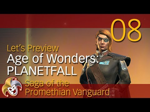 Age of Wonders PLANETFALL ~ Vanguard Preview ~ 08 Marauders Attack
