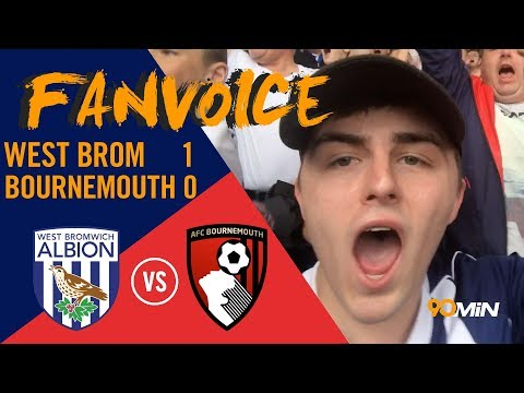 Hegazi grabs 3 points for West Brom vs Bournemouth | West Brom 1-0 Bournemouth | 90min FanVoice