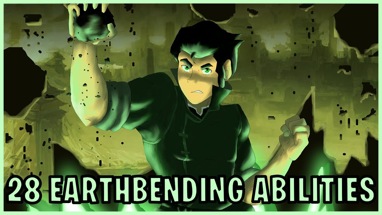 28 Earthbending Abilities Avatar Youtube For example there's likely to be glassbenders out there but we haven't seen anyone. 28 earthbending abilities avatar