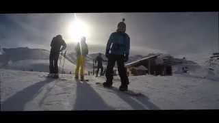 Val Thorens 2016 skiing with GoPro Hero 4