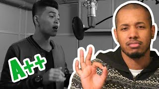 daryl ong thinking out loud ed sheeran cover reaction