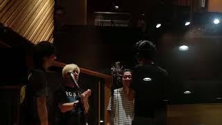 tacica 9月発売のニューシングル レコーディング風景