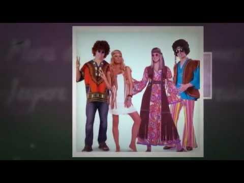 Hippie Costume - Halloween Disco Costumes Ideas