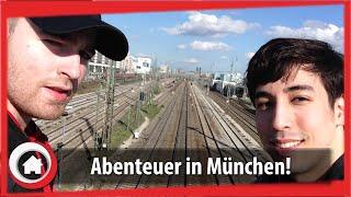 Marius und James on Tour: Blizzard-Abenteuer in München