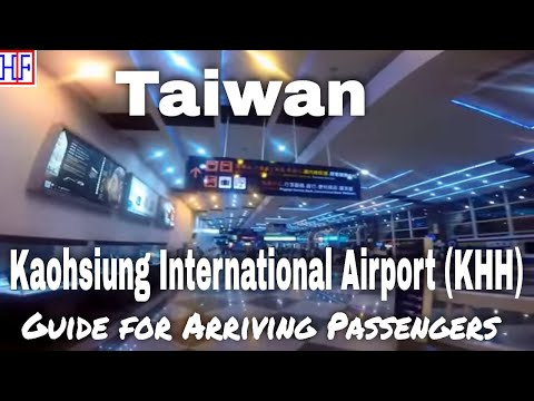Kaohsiung, Taiwan | Airport (KHH) to Hotel by train (MRT) | Travel Guide | Episode# 1