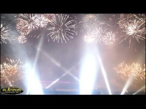 Okada Christmas Preview Event Fireworks
