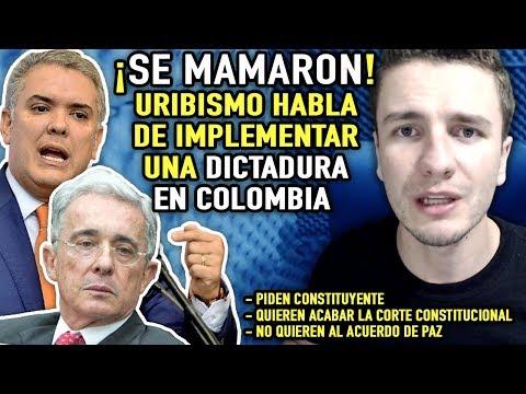 Uribismo se DESTAPA y anuncia una DICTADURA para Colombia