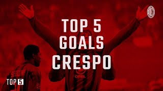 Top 5 Goals: Hernan Crespo