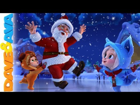 🔔 Christmas Songs for Kids | Nursery Rhymes for Babies | Dave and Ava 🔔