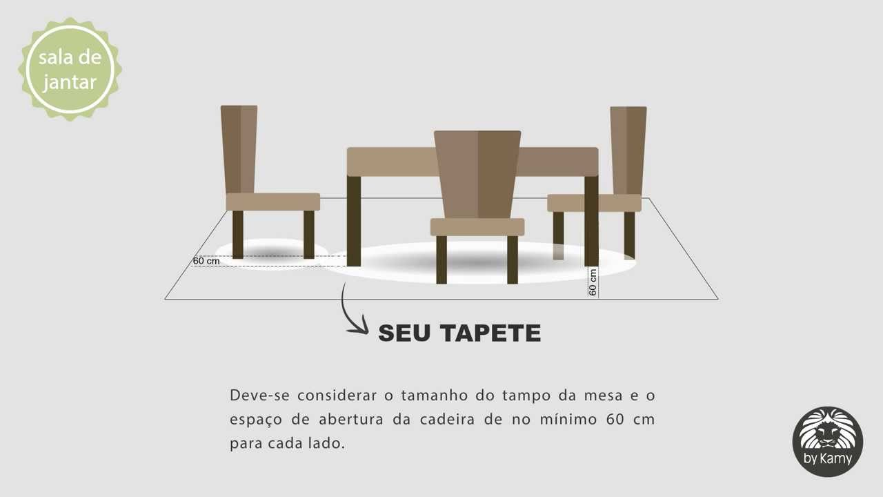 Como decorar o tapete na sala de jantar by kamy youtube - Tapetes para mesa ...