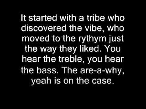 Tribal Dance Lyrics