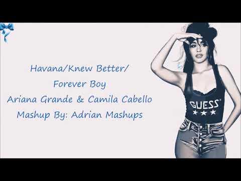 Ariana Grande & Camila Cabello - Havana (Mashup) (Lyrics)