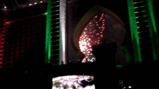Fireworks at opening of Atlantis Palm Jumeirah