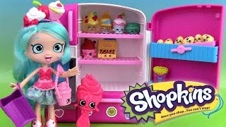 Shopkins Shoppies Poupée Jessicake Doll Super Frigo Super Cool Fridge